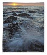 Giant's Sunset Fleece Blanket