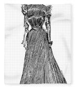 Gibson: A Gibson Girl Fleece Blanket
