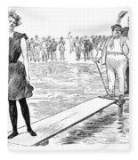 Gibson: Bather, 1900 Fleece Blanket