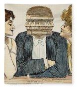 Gibson Girls, 1903 Fleece Blanket