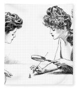 Gibson Girls 1904 Fleece Blanket