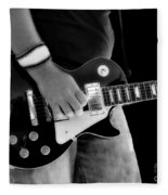 Gibson Les Paul Guitar  Fleece Blanket