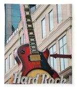 Gibson Les Paul Of The Hard Rock Cafe Fleece Blanket