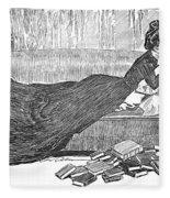 Gibson: Reader, 1900 Fleece Blanket