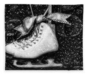 Gift Of Ice Skating Fleece Blanket