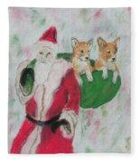 Gifts Of Joy Fleece Blanket