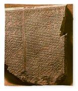 Gilgamesh, 7th Century B.c Fleece Blanket