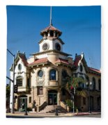 Gilroy's Old City Hall Fleece Blanket