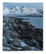 Gimsoy, Lofoten - Norway Fleece Blanket