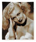Ginger Rogers, Actress Fleece Blanket