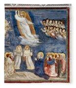 Giotto: Ascension Fleece Blanket