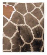 Giraffe Love Fleece Blanket