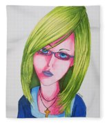 Mary Fleece Blanket