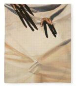 Give Me A Hand Fleece Blanket