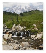 Glacial Runoff Fleece Blanket