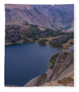 Glacier Lake 2 Fleece Blanket