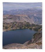 Glacier Lake 3 Fleece Blanket