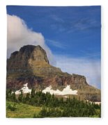 Glacier National Park At Logan Pass Fleece Blanket