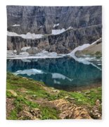 Glacier Paradise Fleece Blanket