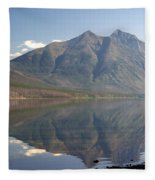 Glacier Reflection1 Fleece Blanket