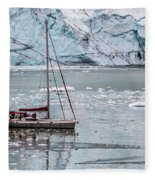 Glacier Sailing Fleece Blanket