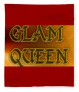 Glam Queen Fleece Blanket