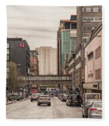 Glasgow Renfield Street Fleece Blanket