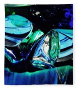 Glass Abstract 141 Fleece Blanket