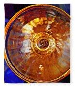 Glass Abstract 577 Fleece Blanket