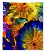 Glass Fantasy Fleece Blanket