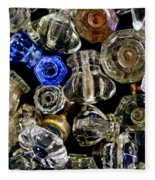 Glass Knobs Fleece Blanket