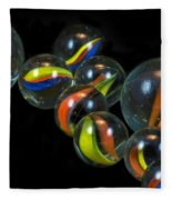 Glass Marbles Fleece Blanket