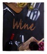 Winery Fleece Blanket