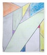 Glass-scrapers Fleece Blanket