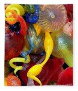 Glassworks Of The Milwaukee Art Museum Fleece Blanket