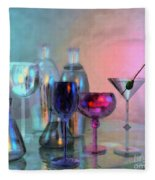 Glassy Still Life Fleece Blanket