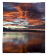 Glassy Tahoe Fleece Blanket