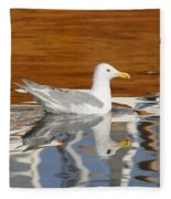 Glaucous-winged Gull Fleece Blanket
