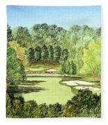 Glen Abbey Golf Course Canada 11th Hole Fleece Blanket