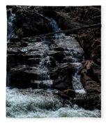 Glen Alpine Falls 8 Fleece Blanket