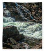 Glen Alpine Falls 9 Fleece Blanket