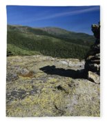 Glen Boulder Trail - White Mountains New Hampshire Usa Fleece Blanket