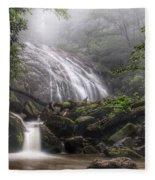 Glen Burney Falls Fleece Blanket