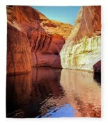 Glen Canyon Reflections Fleece Blanket