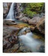 Glen Ellis Falls Autumn Fleece Blanket
