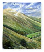 Glen Gesh Ireland Fleece Blanket