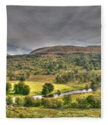 Glen Lyon Scotland Fleece Blanket