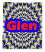 Glen Fleece Blanket