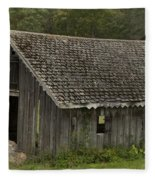 Glen Park Barn Fleece Blanket