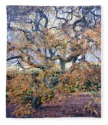 Glen Park Manor Garden Fleece Blanket